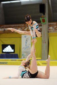 Gym acrobatique portrait